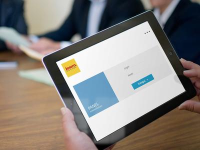 Aplikacja sprzedażowa na iPady