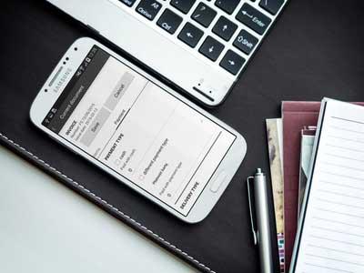 Aplikacja mobilna ERP dla handlowców