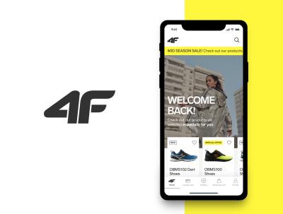 4F – koncept sklepu sportowego w smartfonie