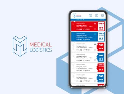 Medical Logistics – Aplikacja dla kurierów medycznych