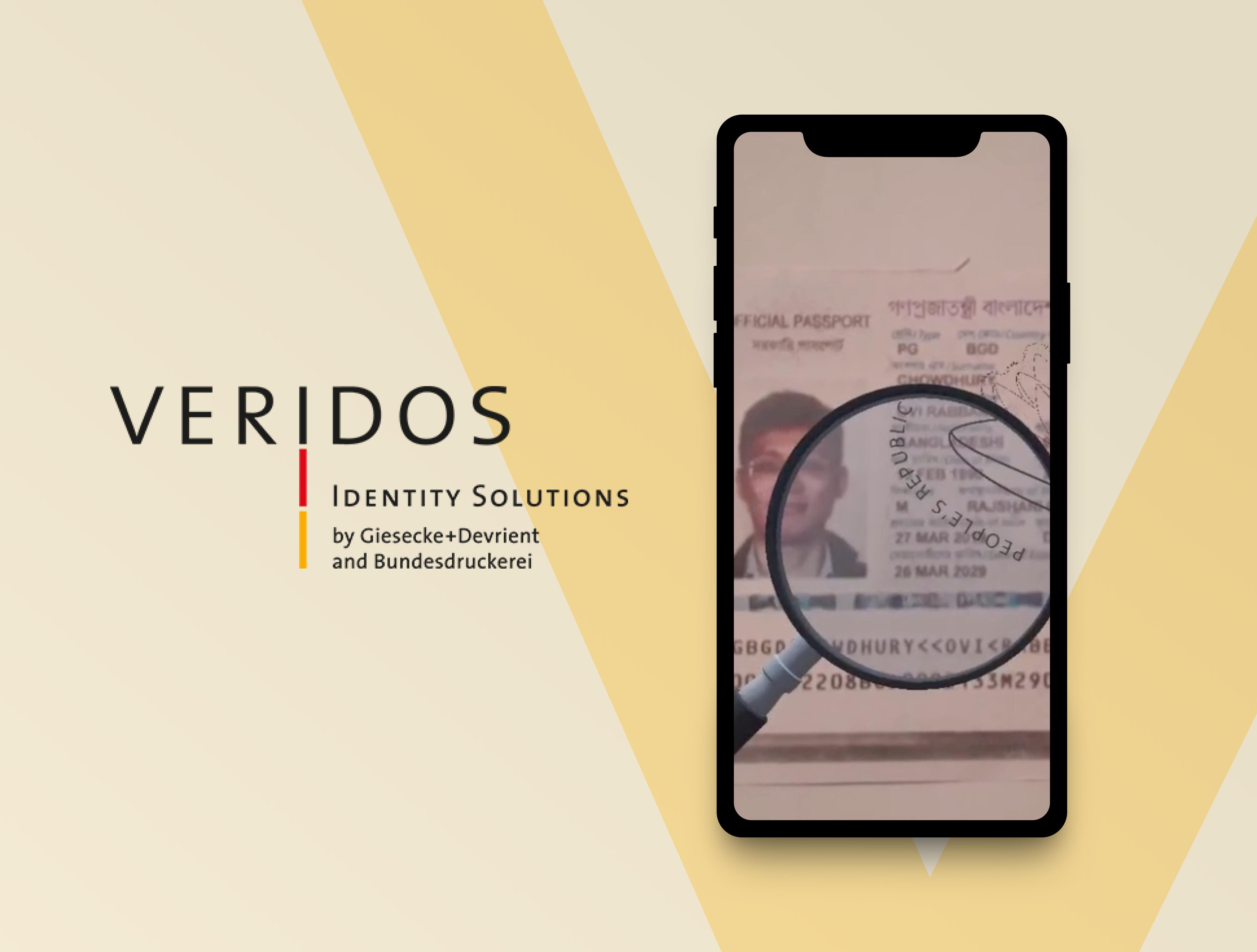 Veridos - Rzeczywistość rozszerzona w elektronicznym paszporcie