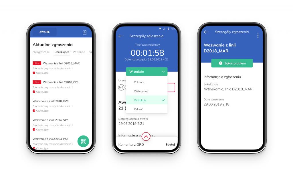 aplikacje mobilne dla przmysłu